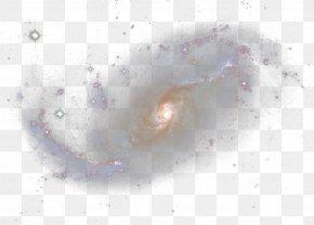 Spiral Galaxy - Organism Angle Close-up Pattern PNG
