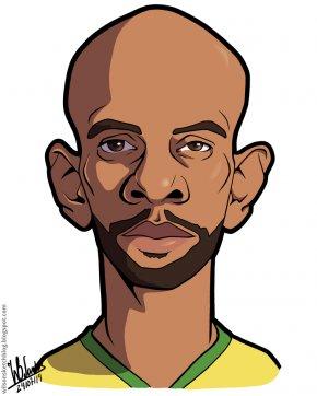 Football Cartoon Pics - Maicon Sisenando Cartoon Caricature Football Player Drawing PNG