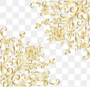 Gold Corners Clip Art Image - Gold Clip Art PNG