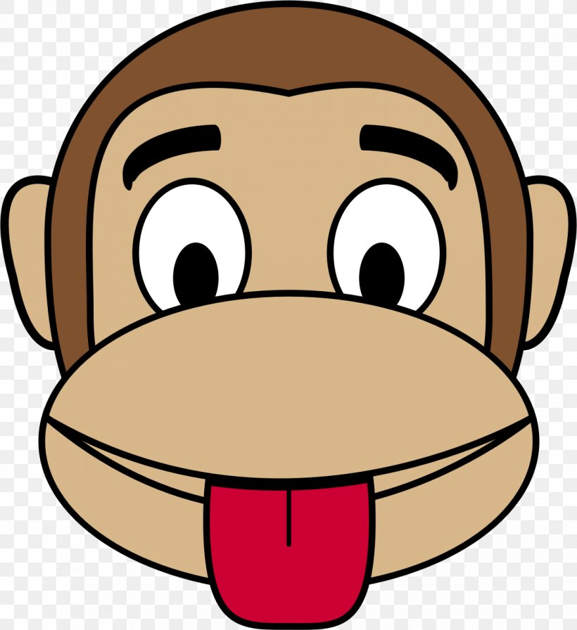 Monkey Face Cartoon Clip Art Png 1122x1227px Monkey Cartoon Cheek Drawing Face Download Free