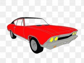 Car - Muscle Car Compact Car Motor Vehicle Automotive Design PNG
