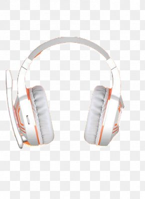 White Headphones - Headphones Headset High Fidelity Earmuffs PNG