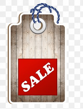 Decorative Wood Tag Sale - Euclidean Vector Price PNG
