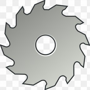 Saw Blade Cliparts - Circular Saw Table Saws Blade Clip Art PNG