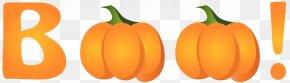 Halloween Boo Clip Art Image - Pumpkin Royalty-free Clip Art PNG