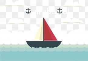 Offshore Sailing - Sailing Ship Euclidean Vector PNG