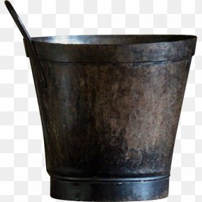 Metal Bucket Transparent - Metal Bucket Lid PNG