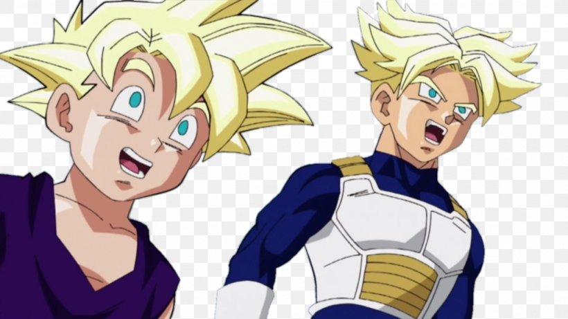 Trunks Gohan Goku Dragon Ball Z Side Story Plan To Eradicate The