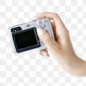 Free Hand-held Camera To Pull Material - Digital Camera Video Camera PNG