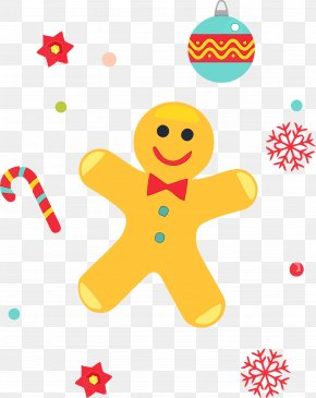 Gingerbread Wet Ink - Gingerbread PNG