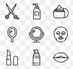 Beauty Vector - Cosmetics Beauty Parlour Clip Art PNG