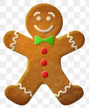 Gingerbread Man Ornament Clip-Art Image - Gingerbread Man Cookie Icon PNG