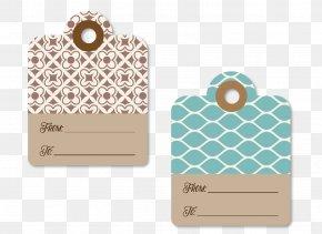 Vector Decorative Gift Tag Card - Santa Claus Paper Gift Card PNG