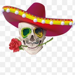 The Shape Of Skulls - Cinco De Mayo Stock Photography Clip Art PNG