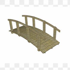 Bridge Model - SketchUp Garden Computer-aided Design 3D Computer Graphics PNG