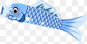 Blue Fish - Fish Scale Blue PNG