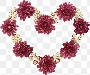 Flower - Cut Flowers Heart Love Desktop Wallpaper PNG