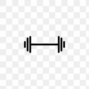Dumbbell Icon - Dumbbell Barbell Physical Exercise Icon PNG
