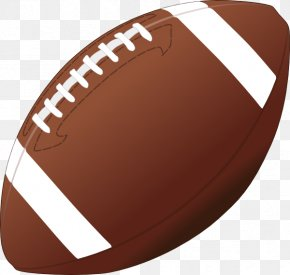 American Football Ball - American Football NFL Clip Art PNG