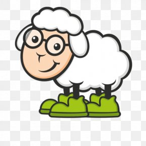 Mubarak Cartoon Moutons - Sheep Vector Graphics Clip Art Image PNG