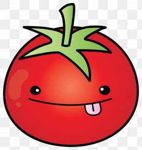 Line Art Mouth - Tomato Cartoon PNG