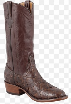 Leather Boots - Cowboy Boot Tony Lama Boots Justin Boots PNG