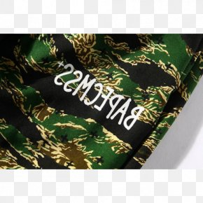 BAPE - A Bathing Ape Hoodie Fashion Military Camouflage Tiger PNG