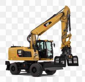 Excavator - Caterpillar Inc. Bucket-wheel Excavator Loader Heavy Machinery PNG