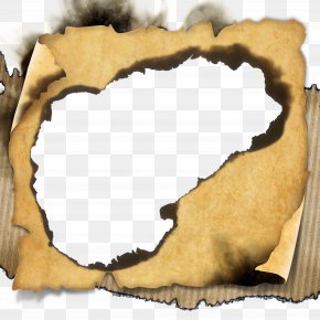 Burn Old Paper - Paper PNG