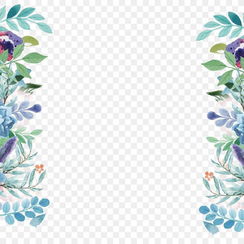Plant Flower Autumn, PNG, 1000x1000px, Blue, Autumn, Floral Design, Flower, Pattern Download Free
