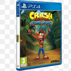 Playstation - Crash Bandicoot N. Sane Trilogy PlayStation 4 Video Game PNG