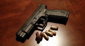 Handgun - Firearm Handgun Ammunition Pistol Bullet PNG