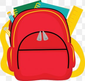 School - School Bag Backpack Clip Art PNG