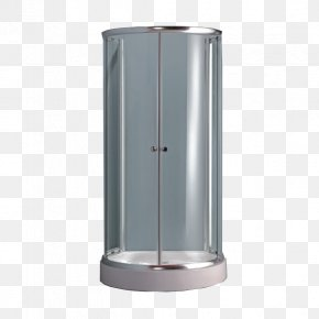 Two-door Simple Shower Room - Glass Shower Living Room Bathroom PNG