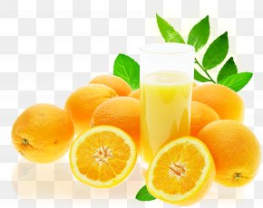 Freshly Squeezed Orange Juice - Orange Juice Fruit Wallpaper PNG