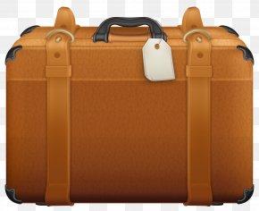 Brown Suitcase Clipart - Suitcase Clip Art PNG
