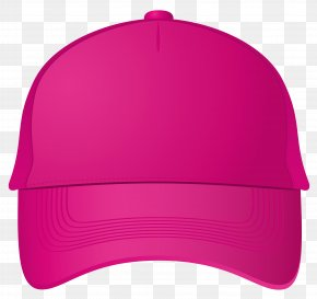 Baseball Cap - Magenta Pink Purple Cap Headgear PNG