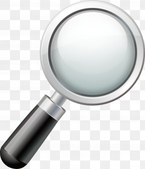 Vector Magnifying Glass - Magnifying Glass Lens Magnification PNG
