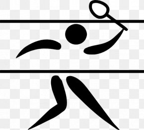 Smash Cliparts - 1948 Summer Olympics 2012 Summer Olympics Badminton Olympic Sports Clip Art PNG