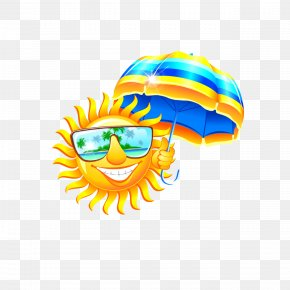 Decorative Sun Umbrella - Heat Child Organization Clip Art PNG
