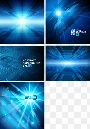 Blue Technology Background - Blue Color PNG