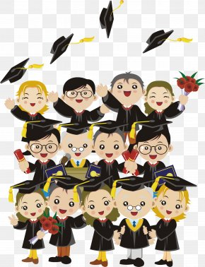 Graduation - Graduation Ceremony Child Clip Art PNG