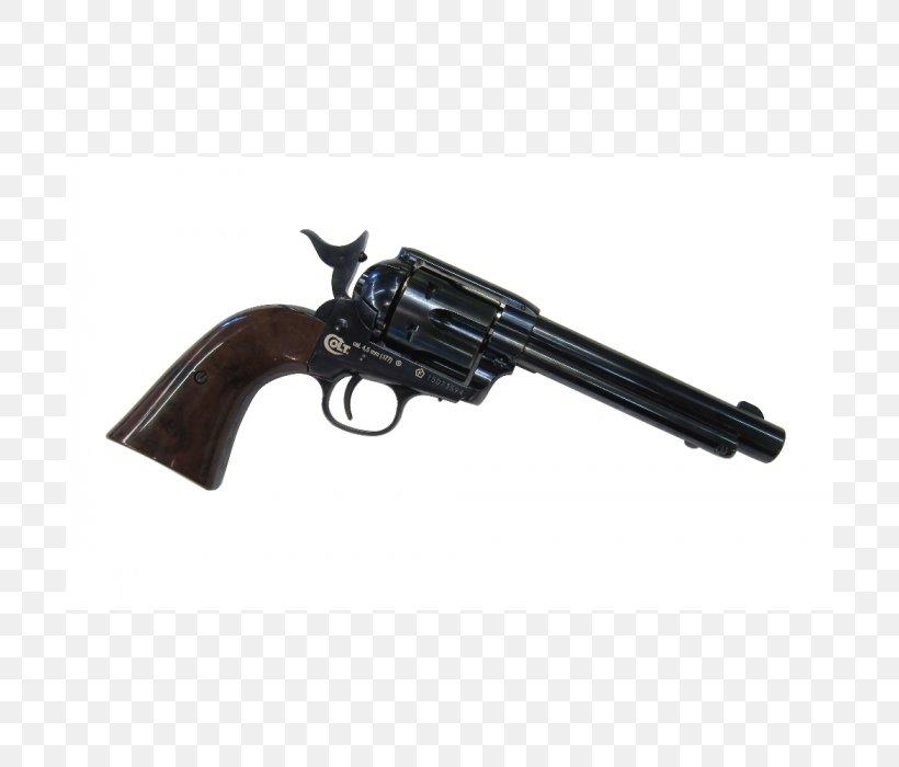 Revolver Air Gun Firearm Trigger Colt Single Action Army, PNG, 700x700px, 45 Colt, Revolver, Air Gun, Bb Gun, Carbon Dioxide Download Free
