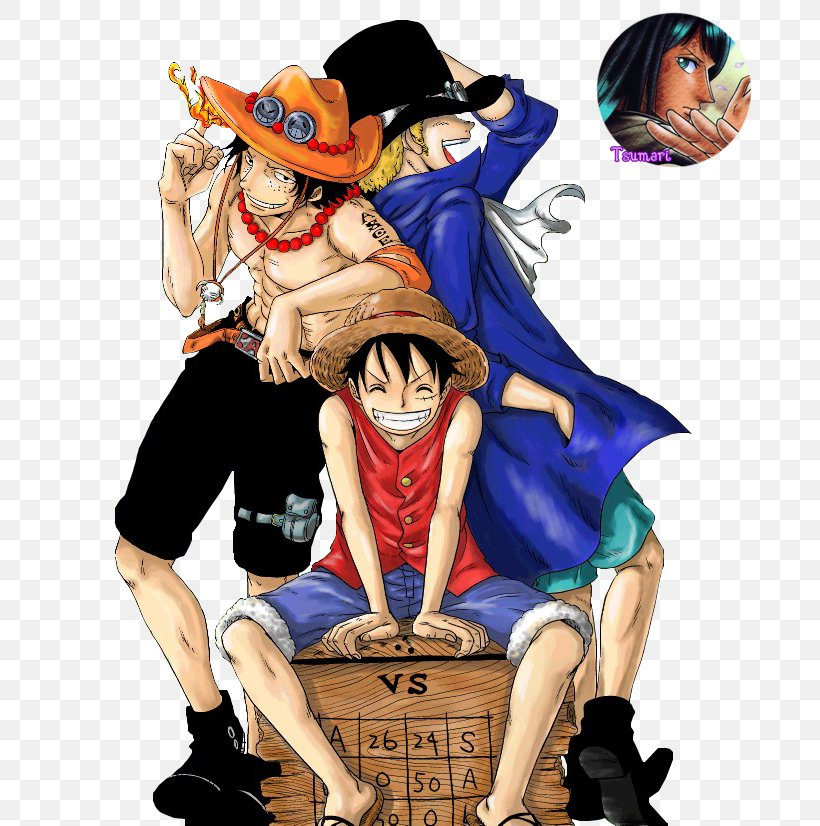 Monkey D Luffy Portgas D Ace One Piece Sabo Monkey D Garp