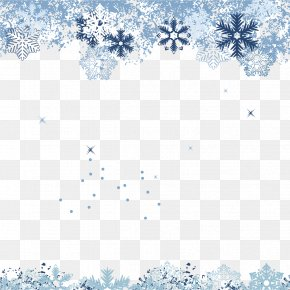 Winter Snowflake Background - Snow PNG