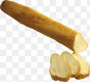 Bread Image - White Bread Rye Bread Matzo Baguette PNG