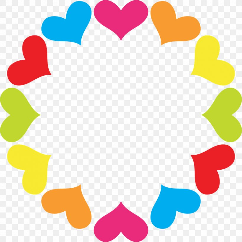Clip Art Borders And Frames Heart Image Circle, PNG, 900x900px, Borders And Frames, Area, Flower, Heart, Heart Frame Download Free