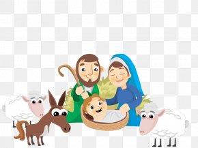 Vector Birth Of Jesus - Nativity Of Jesus Child Jesus Christmas Birth Nativity Scene PNG