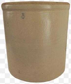 Antique Design Flowerpot Crock Earthenware PNG