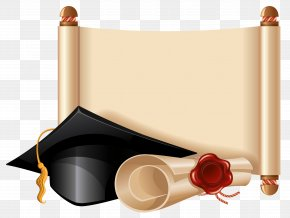 Diploma And Graduation Cap Clipart Picture - Graduation Ceremony Square Academic Cap Stock Photography Clip Art PNG